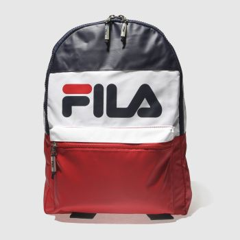 ACCESSORIES FILA NAVY & RED VERNON BACKPACK