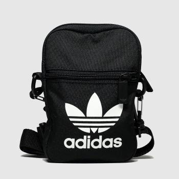 Adidas Black & White Trefoil Festival Bags#