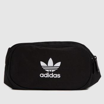 adidas Black & White Adicolor Waistbag Bags
