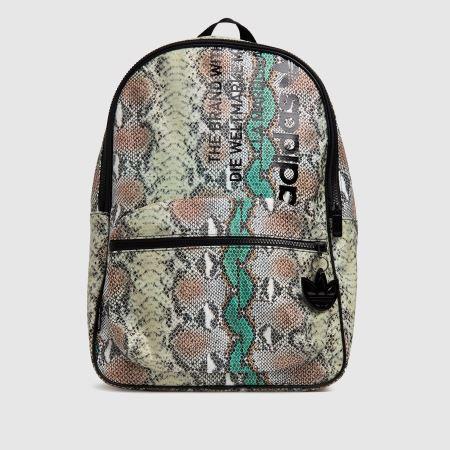 adidas Snake Print Backpacktitle=