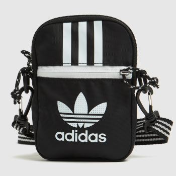 adidas Black & White Festival Bag Bags