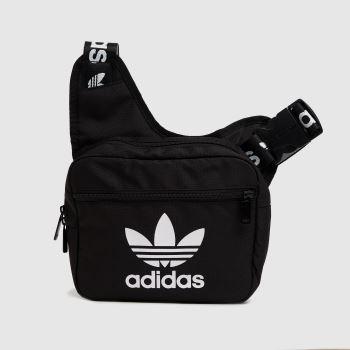 adidas Black & White Sling Corss Body Bag Bags