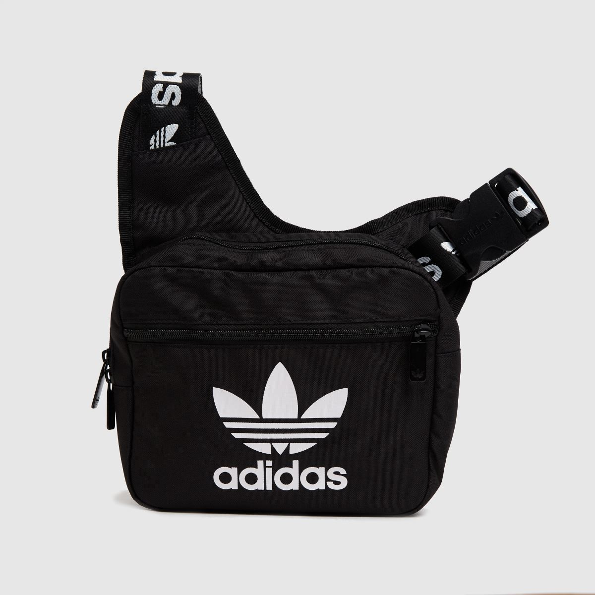 Adidas Black & White Sling Bag