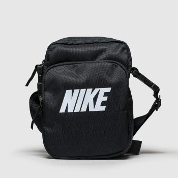 Nike Black & White Heritage Summit Bags