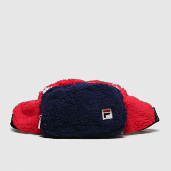 Fila Navy & Red Drooter Waistbag Bags
