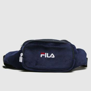 Fila Navy & White Fulbury Waistbag Bags