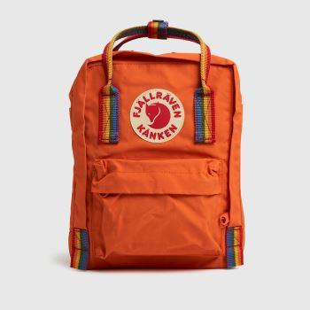 Fjallraven Orange Kanken Bags