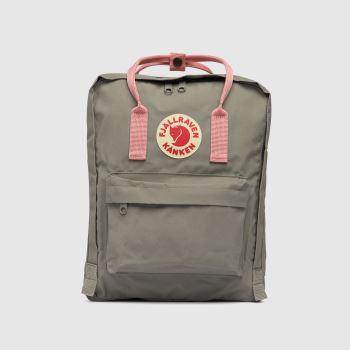 Fjallraven Light Grey Kanken Bags