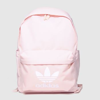 adidas Pale Pink Classic Backpack Bags#