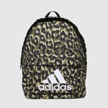 adidas Black & Brown Bos Bp Leopard Bags