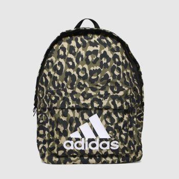 adidas Black & Brown Bos Bp Leopard Bags