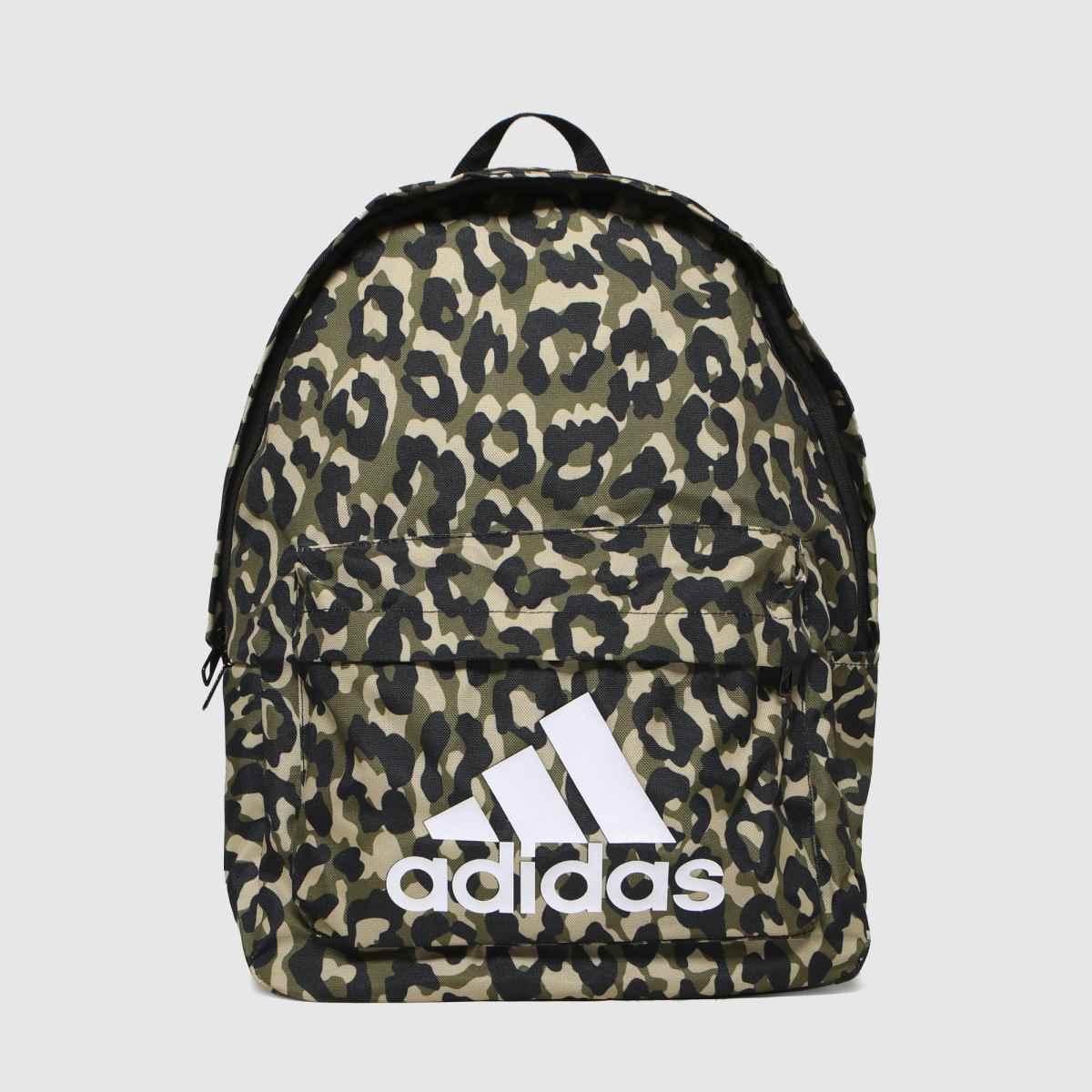 Adidas Black & Brown Bos Bp Leopard