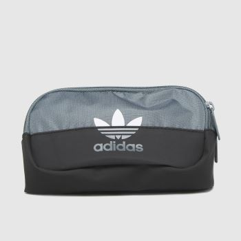adidas Grey Sliced Waistbag Bags