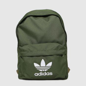 adidas Khaki Ac Classic Bp Bags