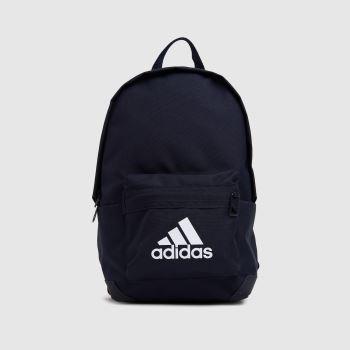 adidas Navy Kids Badge Of Sport Backpack Bags