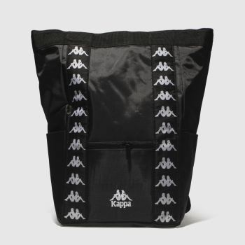 Kappa Black Aninges Backpack Bags