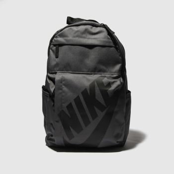 Nike Grey & Black Elemental Backpack Bags