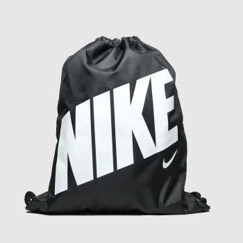 Nike Black & White Kids Graphic Gym Sack c2namevalue::Bags