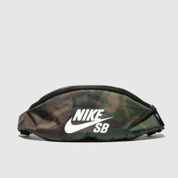 Nike Khaki Heritage Bumbag Bags
