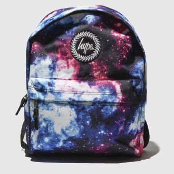 Hype Blue & Pink Backpack Space Hues Bags