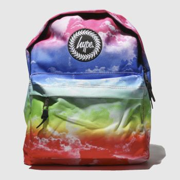 Hype Blue & Green BACKPACK RAINBOW CLOUDS Bags