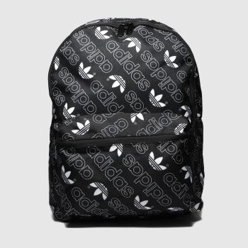 Adidas Black & White MONOGRAM CLASSIC BACKPACK Bags