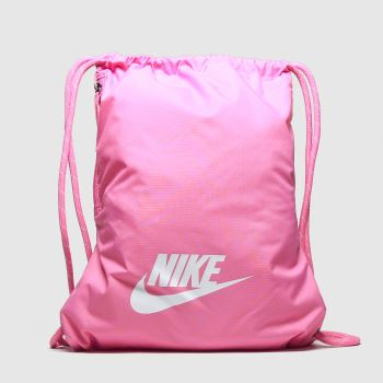Nike Pink Heritage 2.0 Gymsack c2namevalue::Bags