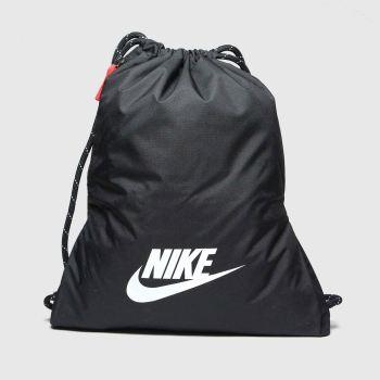 Nike Black & White Heritage 2.0 Gymsack Bags