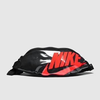 Nike Black & pink Heritage Hip Pack Bags