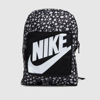 Nike Black & Grey Classic Backpack Bags