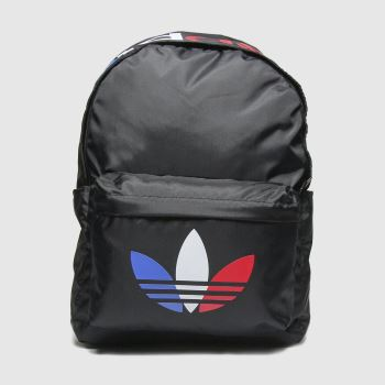 adidas Black & Red Tricolor Backpack Accessory#
