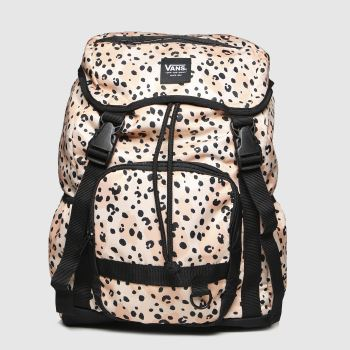 Vans Pale Pink Leila Hurst Range Backpack c2namevalue::Bags