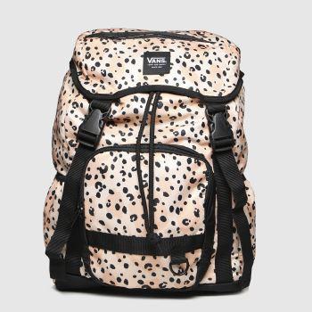 Vans Pale Pink Leila Hurst Range Backpack Bags