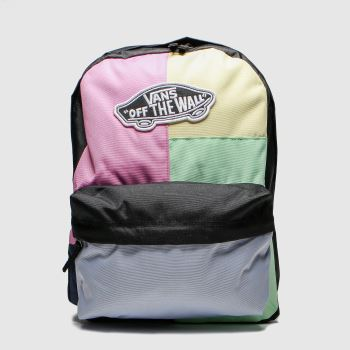 Vans Multi Realm Patchwork Backpack c2namevalue::Bags#promobundlepennant::£5 OFF
