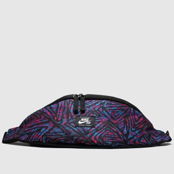 Nike Sb Black and blue Heritage Hip Pack c2namevalue::Bags