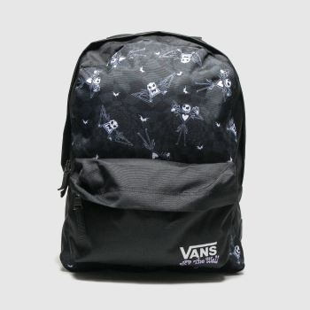 Vans Black & Grey Jacks Check Realm X Tnbc Bags