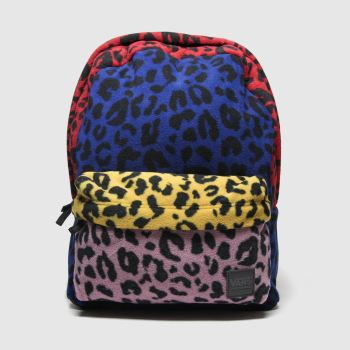 Vans Red & Blue Deana Iii Backpack Bags