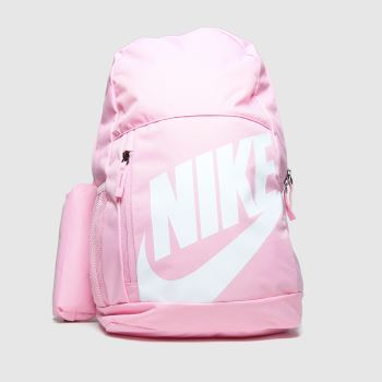 accessories Nike pink kids nk elmntl bkpk