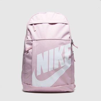 Nike Pale Pink Elemental Backpack Bags