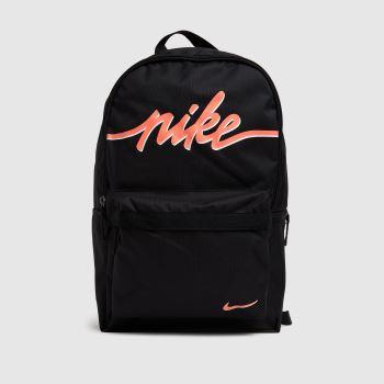 Nike Black & pink Heritage 2.0 Backpack Bags
