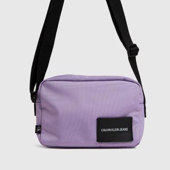 CALVIN KLEIN Lilac Camera Bags
