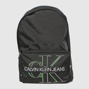 CALVIN KLEIN Black Campus Bp 43 Glow Backpack Bags