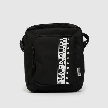 NAPAPIJRI Black & White Happy Cross Body Bags