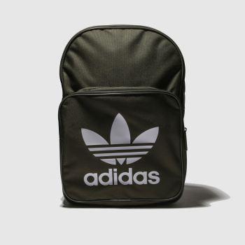 Adidas Khaki Classic Trefoil Bags from Schuh