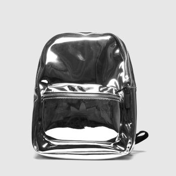 Adidas Silver Backpack Metallic Bags