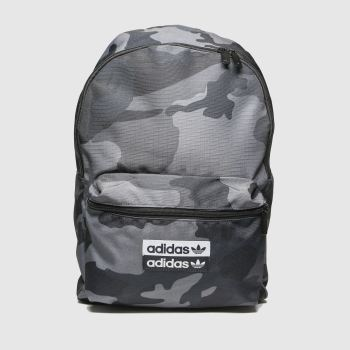 accessories adidas grey & black voc cam classic backpack