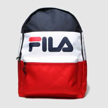 Fila Navy & Red Arda Bags