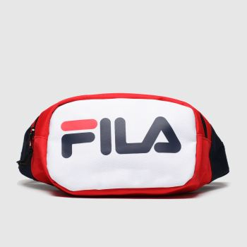 Fila Navy & Red Soel Waistbag Bags
