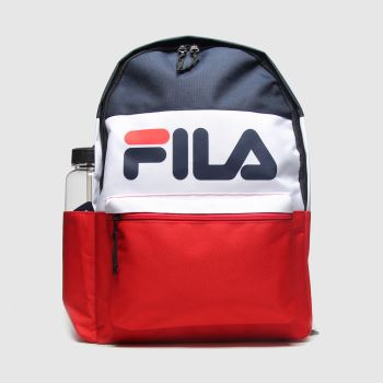 Fila Navy & Red Ardam Bags