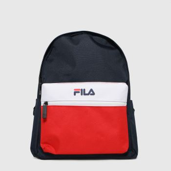 Fila Navy & Red Retford Bags